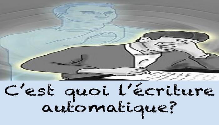 Quelles sont les bases de l'écriture automatique ?