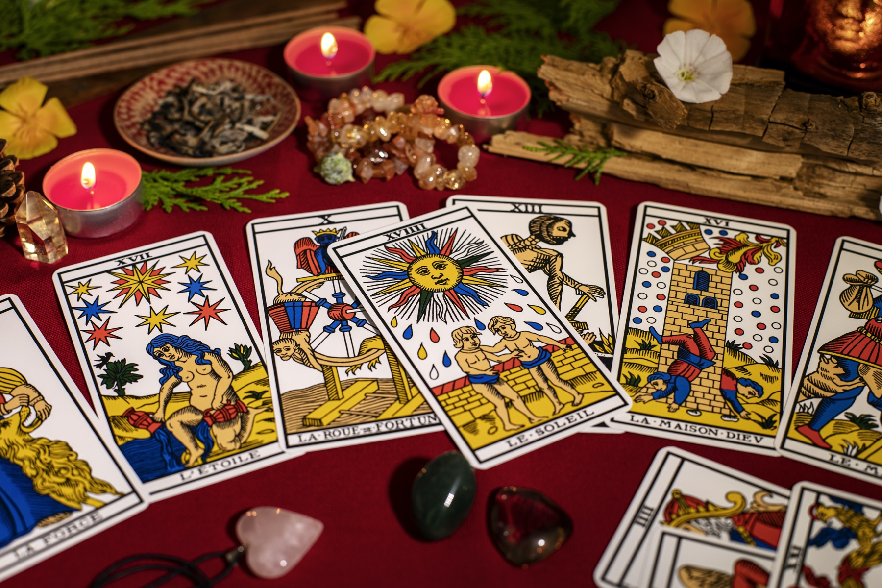 Histoire et utilisation des cartes de tarot